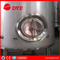 Cheap 3000L Sanitary Stainless Steel Wine Tanks For Brewery / Beer Brewing Tanks for sale
