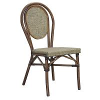 Quality All Weather Textilene Big Loading Ability Bistro Dining Chairs wholesale