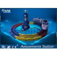 Quality Attractive Kiddie Ride Machine Electric Train , Track Amusement Game Machine wholesale