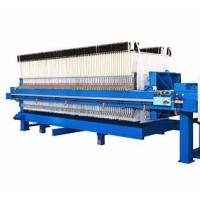 Quality Hydraulic Filter Press Operation Manual , Ceramic Recessed Plate Filter Press wholesale