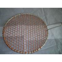 Quality copper round barbecue grill netting wholesale
