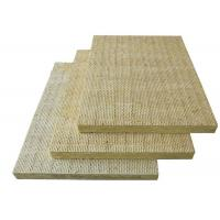 China Fireproof Rockwool Board External Wall High Temperature Resistant on sale