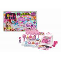 Quality Ice Cream Store Electronic Cash Register Toy for Children with Sound & Light wholesale