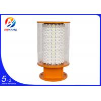 Quality AH-HI/O White LED high intensity Obstruction warning lights, tower aviation obstacle light with FAA L-856/867 wholesale