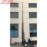 Quality Mobile BTS mast tower trailer wholesale