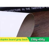 Quality One side coated duplex paper board grey back with high stiffness 230g-450g wholesale