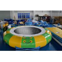 Cheap Giant Inflatable Floating Water Games /  Inflatable Aqua Park With Trampoline for sale
