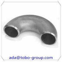 Quality ASME A403 WPS TP304/304L Butt Weld Fittings Stainless Steel 180 Degree Elbow wholesale