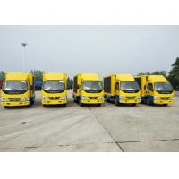 Quality Full Color SMD Screen LED Advertising Truck , P4 Mobile LED Truck 4x2 For Promotion wholesale