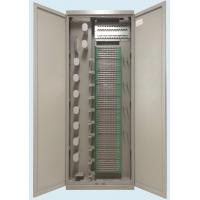 Cold Rolled Steel Sheet ODF Optical Distribution Frame Rack 864 Core 720 Core 576 Core