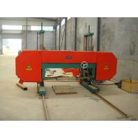 Quality Large Size Horizontal band saw mill machine for cutting tree truck wholesale