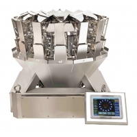 China Touch Screen 14 Head Multihead Weigher Machine Multi Function Packaging Machines on sale