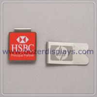 Silk Printing Metal Paper Clip/Good Quality Metal Clip for sale
