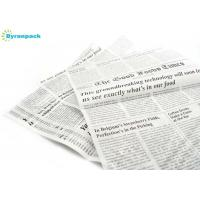 Quality Oven Freezer Non Stick Food Wrapping Paper With Newspaper Printing Design wholesale