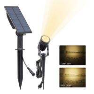 Quality Solar Spot Garden Lights Ground Stick Into Outdoor Landscape Lighting Sensor ActivaedAuto OFF/ON For Patio,Yard wholesale
