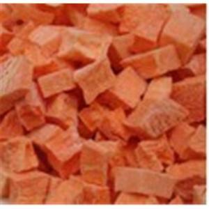 China Freeze dried carrot on sale