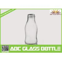Quality Regular clear 250 ml glass bottles for juice wholesale