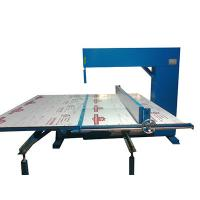 Quality Vertical Polyurethane Memory Foam Cutting Machine Adjustable Speed Manual wholesale