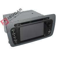 Cheap Classic Sepecial Frame 6.2 Inch Seat Ibiza Dvd Player , Car Dvd Multimedia for sale