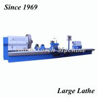 China Flat Bed Lathe CNC Machine Tool High Speed For Turning Large Size Metal Part on sale