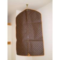 China Hanging Customized Closet PP Non Woven Suit Cover Protector Bags for Men on sale