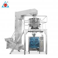 China Stainless Steel snack packing machine/Potato Chips packaging machine/Puffed Food packaging machine on sale