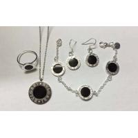Quality Sell New arrival  designer b-vlgari rings necklace earrings bracelets,fashion jewelry sets wholesale
