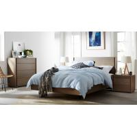 Quality Apartment Furniture Modern design Bedroom sets of Single Bed with Nightstand and Drawer Chest wholesale