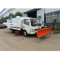 Quality Dongfeng Vacuum Road Sweeper Truck 8000 Liters 4x2 6x4 8x4 With Snow Shovel wholesale