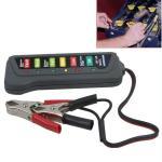 Quality 12V Digital Automotive Battery Tester Alternator Tester With 6 LED Lights Display wholesale