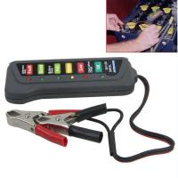 Quality 12V Digital Automotive Battery Tester Alternator Tester With 6 LED Lights Display wholesale