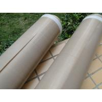 Quality Heat Insulation PTFE Coated Fiberglass Fabric Anti - Corrosion 0.13mm Thickness wholesale