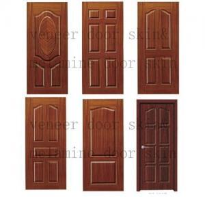 China Melamine door skin,molded door skin,composite door skin on sale