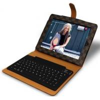 Cheap wireless bluetooth keyboard for ipad 2 classic grid design factorty outlet for sale
