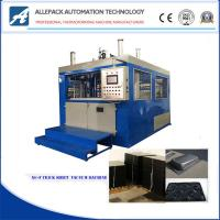 China Siemens PLC Control Thick Sheet Vacuum Forming Machine For Plastic Tray Bowl Plate on sale