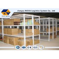 Quality Light Weight Rivet Boltless Shelving Customized With High Capacity Storage wholesale