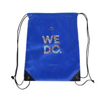 Quality Custom Recycled Non Woven Drawstring Bags Packaging Reuse Bags Design Printing wholesale