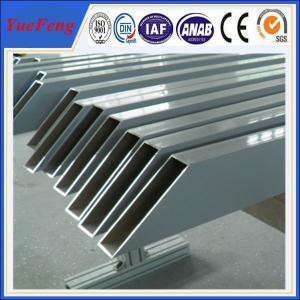 China aluminum tube anodized colored/ Custom aluminum profile tube/ aluminum alloy profile tube on sale
