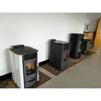 Quality Environmental Indoor Automatic Pellet Stove No Electricity For Home Decoration wholesale