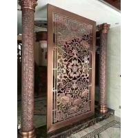 Quality Wall Decoration Bronze Relief Sculpture 200cm x 350cm With Copper Surface Finish wholesale