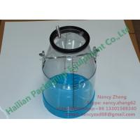 China Food Grade Clear Milk Bucket for Stainless Steel Frame Milking Machine on sale