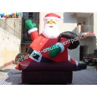 Quality Giant Inflatable Santa Claus Christmas Decorations Outdoor wholesale