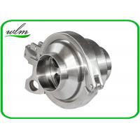 Quality Durable Hygienic Non Return Check Valve Butt Weld End One Way Flow Direction wholesale