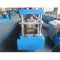 Quality Concrete Door Frame Shutter Roll Forming Machine 1.0mm thickness Single Chain Driven wholesale