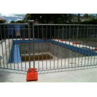Quality Different Colors Temporary Pool Fencing For Above Ground Pools Easy Install wholesale