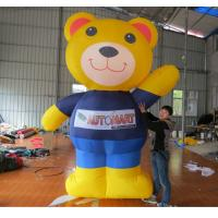 Quality 3m H Advertising Inflatable Winnie Bear the Pooth For Event wholesale