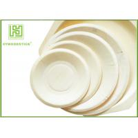 Quality Eco - Friendly Disposable Wooden Plates Biodegradable Bamboo Plates OEM wholesale