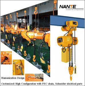 Quality Light Duty 2 Ton Electric Hoist Mechanical Engine Lifting Chain Hoist wholesale
