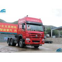 China Sinotruk  Howo Prime Mover , Prime Mover Trailer 102km/H With Two Bed Cabin on sale
