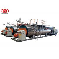 Quality Automatic Fire Tube Gas Fired 1Tons Industrial Steam Boiler for Textile / Chemical / Food and Brewery wholesale